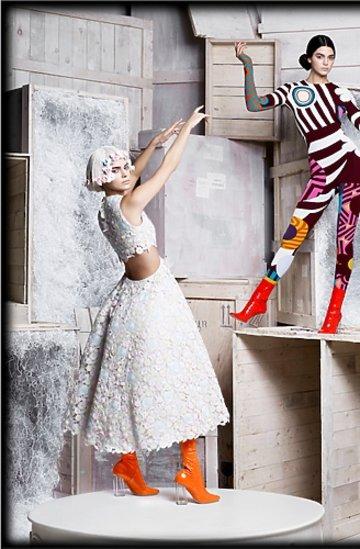 Zdjęcia autorstwa Karla Lagerfelda