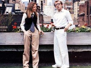 zdjęcie z filmu Annie Hall. Diane Keaton, Woody Allen