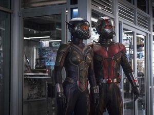 zdjęcie z filmu Ant-Man i Osa. Paul Rudd, Evangeline Lilly