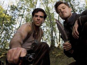 zdjęcie z filmu Bękarty wojny, Inglourious Basterds. Quentin Tarantino