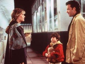 zdjęcie z filmu Bezsenność w Seattle. Meg Ryan, Tom Hanks, Ross Malinger