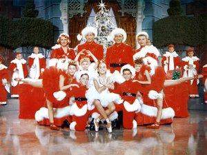 zdjęcie z filmu Białe Boże Narodzenie. Bing Crosby