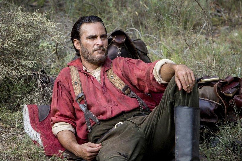 zdjęcie z filmu Bracia Sisters. Joaquin Phoenix