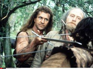 zdjęcie z filmu Braveheart Waleczne serce. Mel Gibson