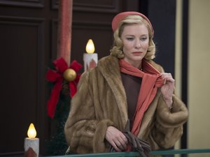zdjęcie z filmu Carol. Cate Blanchett. Gutek Film