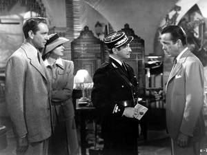 zdjęcie z filmu Casablanca. Humphrey Bogart, Ingrid Bergman
