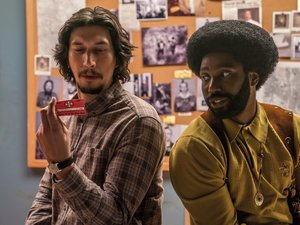 zdjęcie z filmu Czarne bractwo. BlacKkKlansman