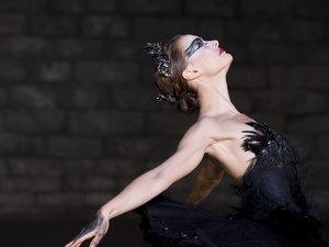 zdjęcie z filmu Czarny łabędź. Natalie Portman