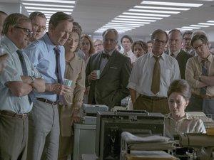 zdjęcie z filmu Czwarta władza. Tom Hanks, Meryl Streep, reż. Steven Spielberg. Monolith Films