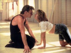 zdjęcie z filmu Dirty Dancing, Wirujący seks. Patrick Swayze, Jennifer Grey