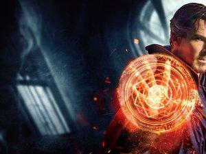 zdjęcie z filmu Doktor Strange. Benedict Cumberbatch