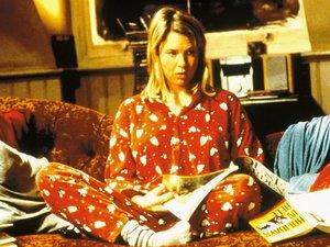 zdjęcie z filmu Dziennik Bridget Jones. Colin Firth, Renee Zellweger, Hugh Grant