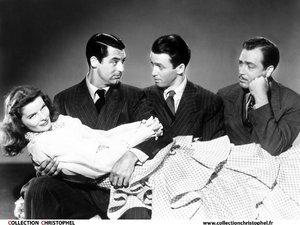 zdjęcie z filmu Filadelfijska opowieść Cary Grant, James Stewart, Katharine Hepburn