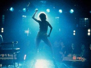 zdjęcie z filmu Flashdance. Jennifer Beals