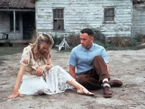 zdjęcie z filmu Forrest Gump. Tom Hanks, Robin Wright