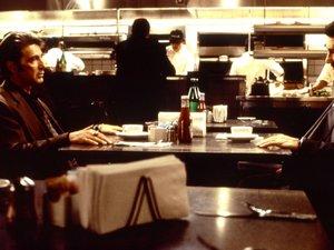 zdjęcie z filmu Gorączka. Al Pacino, Robert Redford