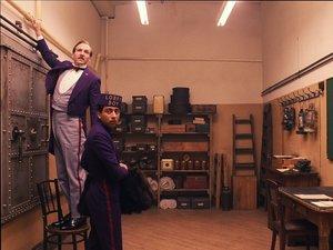 zdjęcie z filmu Grand Budapest Hotel. Wes Anderson
