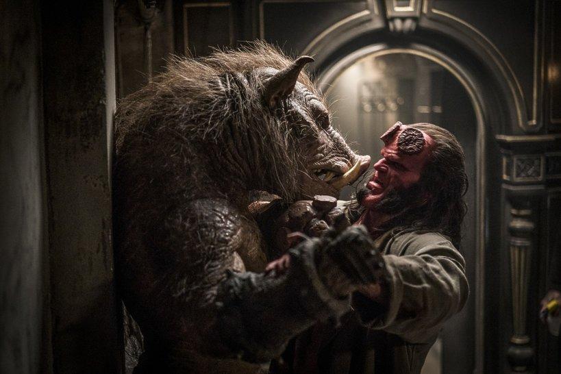 zdjęcie z filmu Hellboy 2019