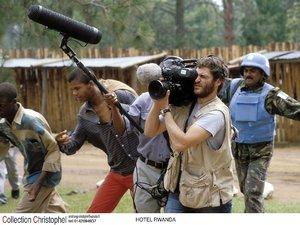 zdjęcie z filmu Hotel Rwanda, Terry George