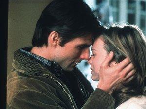 zdjęcie z filmu Jerry Maguire. Tom Cruise, Renee Zellweger