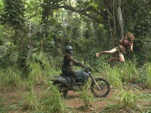 zdjęcie z filmu Jumanji: Przygoda w dżungli. Karen Gillan
