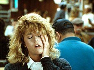 zdjęcie z filmu Kiedy Harry poznał Sally. orgazm Meg Ryan
