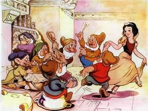zdjęcie z filmu Królewna Śnieżka i siedmiu krasnoludków (1937)