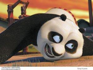 zdjęcie z filmu Kung Fu Panda. panda Po (Jack Black)
