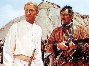 zdjęcie z  filmu Lawrence z Arabii