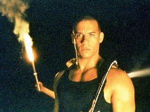 zdjęcie z filmu Pitch Black. Vin Diesel