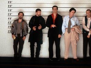 zdjęcie z filmu Podejrzani. Kevin Spacey, Benicio del Toro