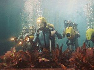 zdjęcie z filmu Podwodne życie ze Stevem Zissou. Wes Anderson