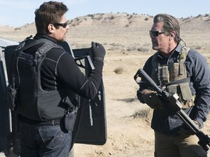 zdjęcie z filmu Sicario 2: Soldado. Benicio del Toro, Josh Brolin