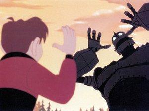 zdjęcie z filmu Stalowy gigant, reż. Brad Bird