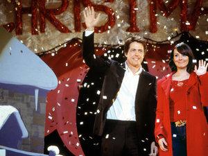 zdjęcie z filmu To właśnie miłość, Love Actually, Hugh Grant, Martine McCutcheon