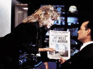 zdjęcie z filmu Wigilijny show. Bill Murray