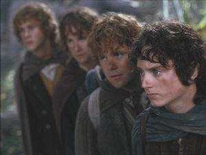 zdjęcie z filmu Władca pierścieni: Drużyna pierścienia. Peter Jackson