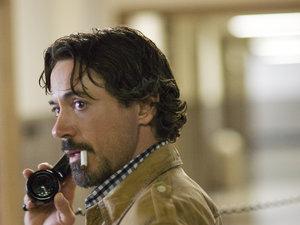 zdjęcie z filmu Zodiak. David Fincher, Robert Downey Jr., Jake Gyllenhaal, Mark Ruffalo