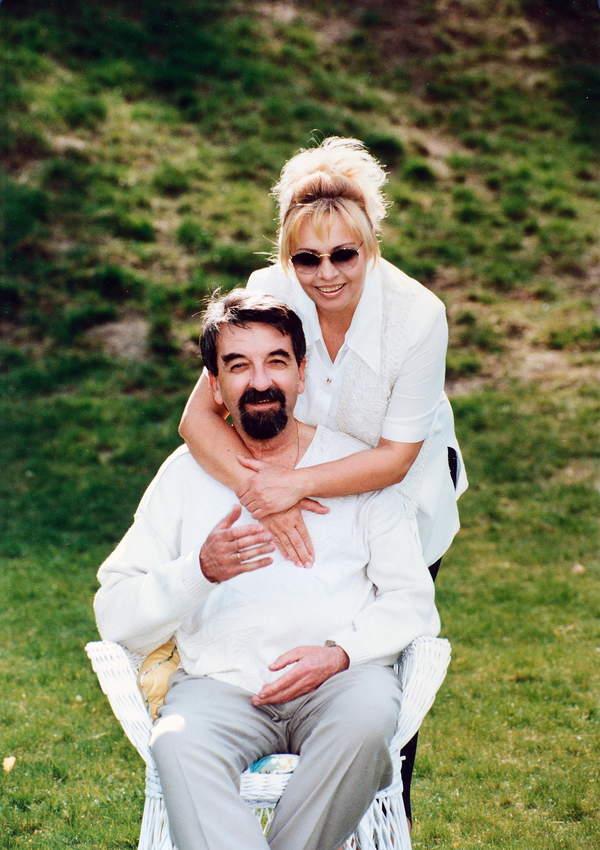 Zdzislawa Sosnicka i jej maz Jerzy Bajer Zdzislawa Sosnicka, 2001