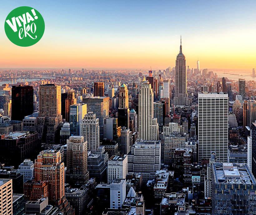 Zegar na Manhattanie odlicza do katastrofy ekologicznej