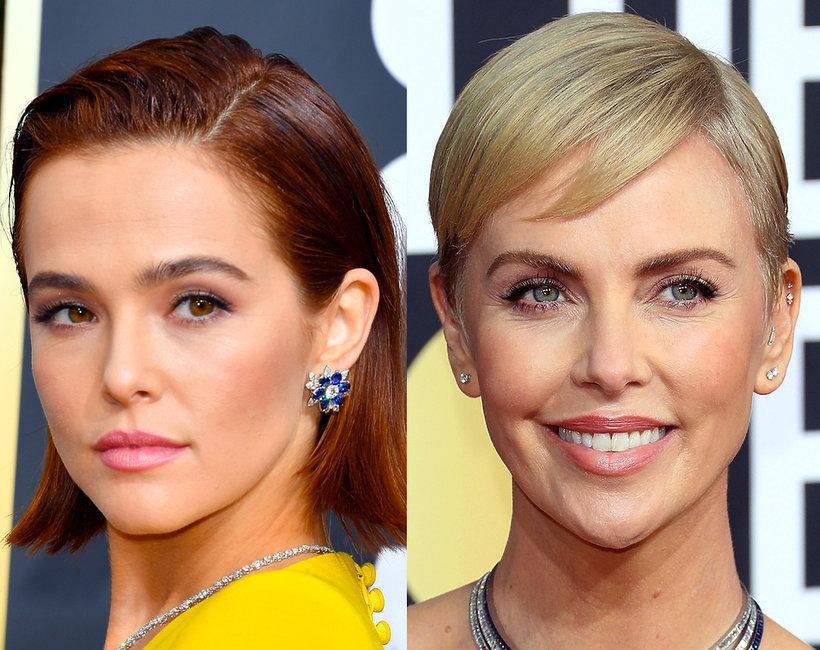 Złote Globy 2020: najlepsze fryzury i makijaże