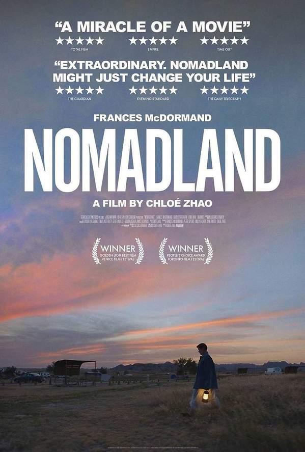 Złote Globy 2021: Nomadland