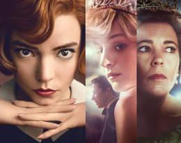 """Złote Globy 2021 rozdane! Wielki sukces seriali """"The Crown"""" i """"Gambit królowej"""""""