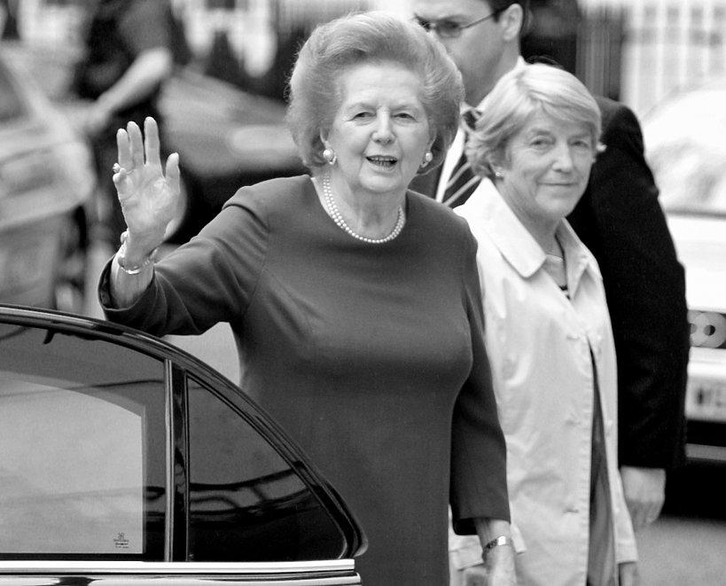 Znane osoby zmarłe w 2013 roku: Margaret Thatcher