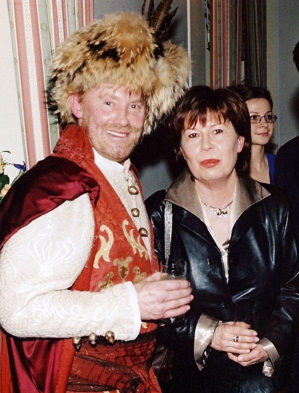 Zuzanna Łapicka i Daniel Olbrychski