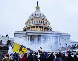 Zamieszki w USA: Szturm na Kapitol, starcie z policją, cztery osoby nie żyją