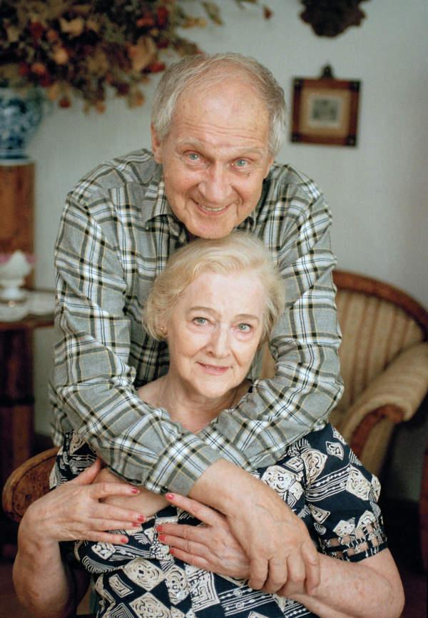 Zygmunt Kęstowicz z żoną