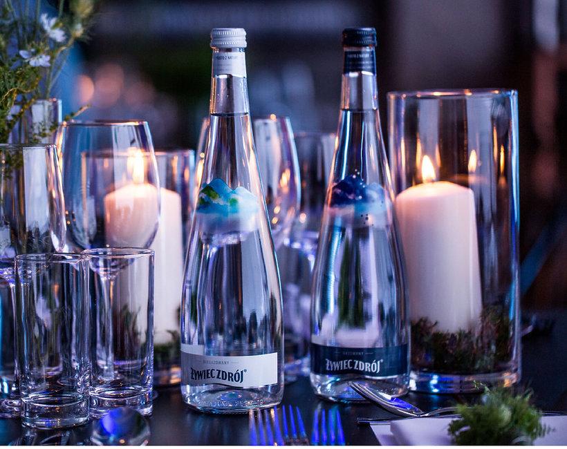 Żywiec Zdrój w szklanej butelce