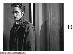 Robert Pattinson dla Dior
