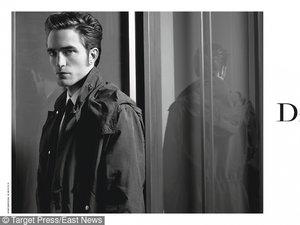 Robert Pattinson dla Dior